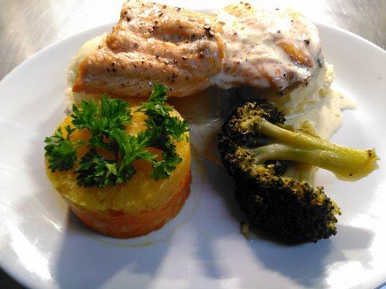 Newmarket, Irlanda: Salmon plate