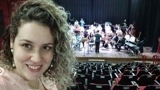Teatro Municipal Paschoal Carlos Magno: Concerto com a orquestra de sopros de Novo Hamburgo - 03/07/2016