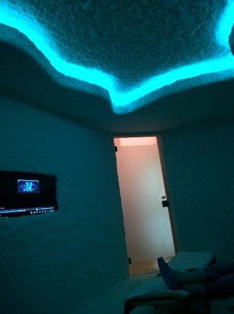 Hotel All'Alba: Grotta di sale