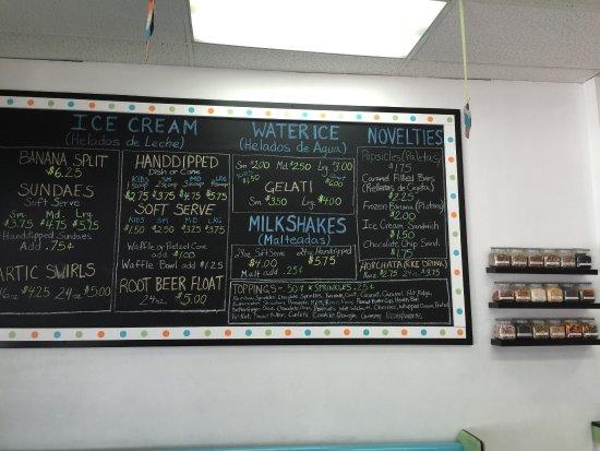 Oxford, PA: Flavor menu!