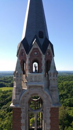Hubertus, WI: View from observation tower