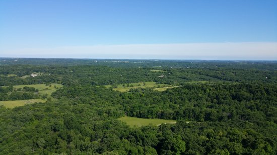 Hubertus, WI: BEAUTIFUL VIEW FROM THE TOWER