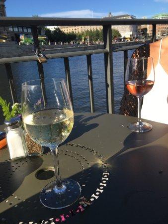 Photo of Modern European Restaurant Koloni Stromparterren at Helgeandsholmen Stroemparterren 5, Stockholm 111 30, Sweden
