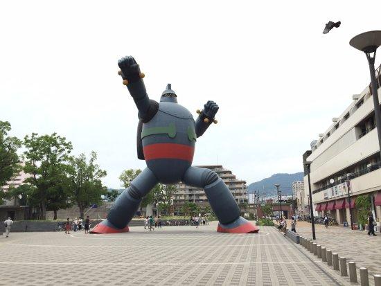 Kobe Tetsujin Sangokushi Gallery : หุ่นตัวใหญ่กว่าที่คิด