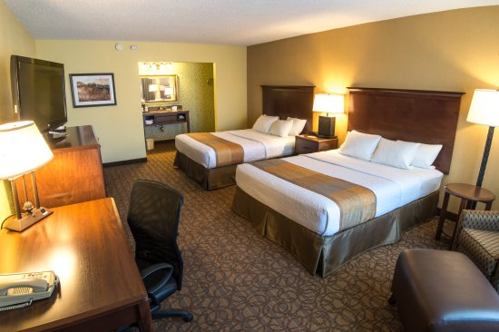 Best Western Inn of the Ozarks: Standard room with Two Queens