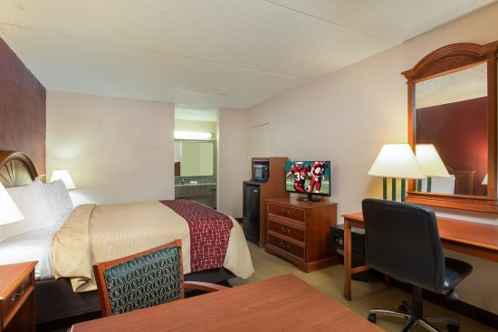 Red Roof Inn Galveston - Beachfront/Convention Center: Superior King