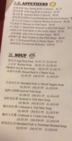 asia kitchen dinner menu 1 - Asia Kitchen Menu
