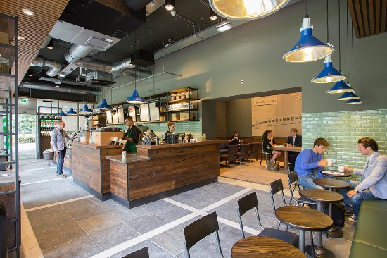 Cool interieur - Picture of Starbucks Tilburg University, Tilburg ...