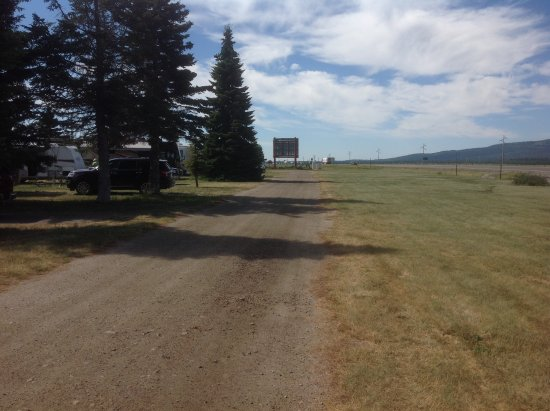 Valley View RV Park Campground: View facing SW