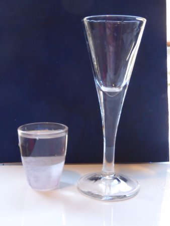 Florentina Boat: A supposed measure of 40ml from the bar poured into a 25ml shot glass
