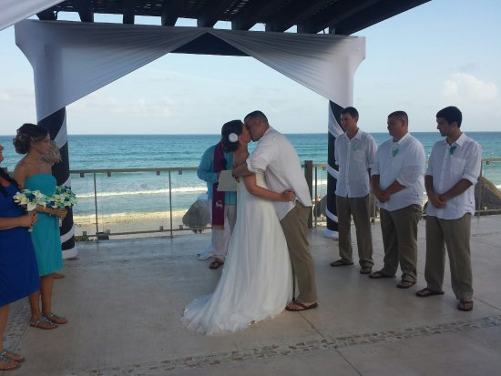 Now Jade Riviera Cancun Pergola Best Place For Wedding