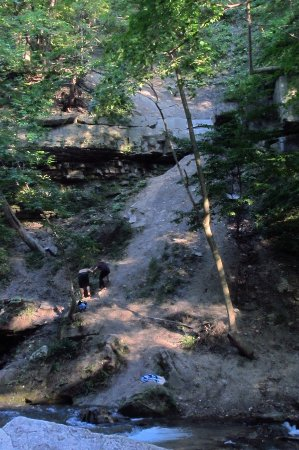 Thorold, Canada: The hill that a couple tried to climb near the waterfall