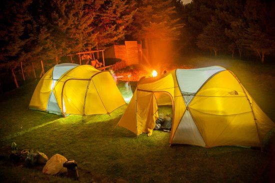 Filadelfia Coffee Resort and Tours: We have camping area too!