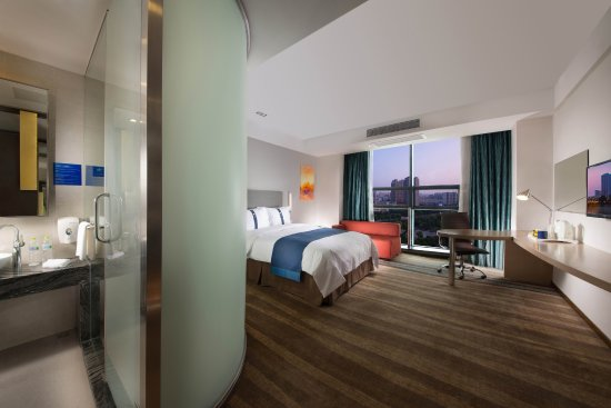 Yancheng, China: Guest Room