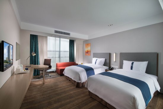 Yancheng, China: Double Bed Guest Room
