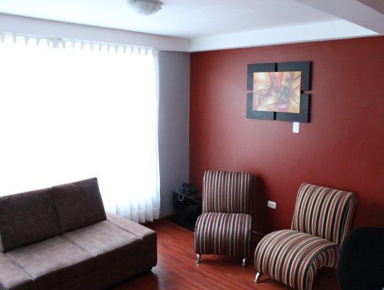 Abancay, Perú: Apartamento Ejecutivo - Sala de estar