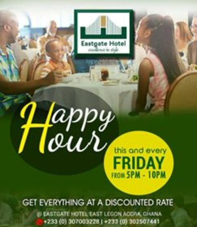 Eastgate Hotel : DISCOUNT HOUR