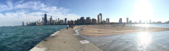 North Avenue Beach Panorama Of The