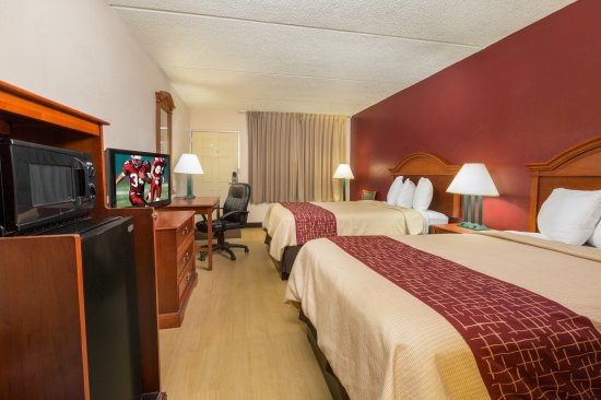 Red Roof Inn Galveston - Beachfront/Convention Center: Deluxe Double