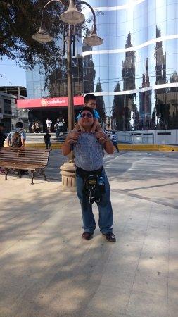 Piura Region, Peru: en plaza de armas de sullana piura, k calorrr