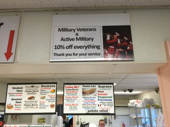 Ferndale, NY: Discount for Vets