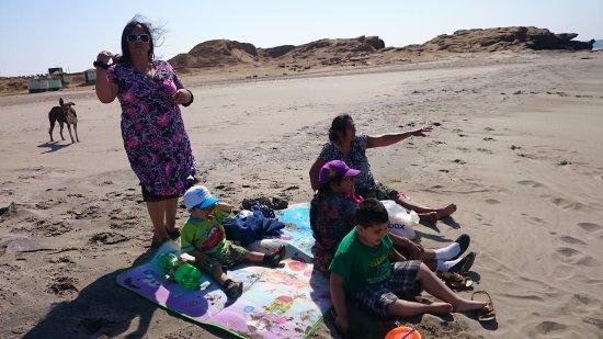 Región Piura, Perú: playa de lobitos en talara piura