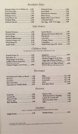 Permalink to American Table Family Restaurant Perrysburg Menu