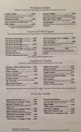 American table family restaurant perrysburg restaurant for The table restaurant menu
