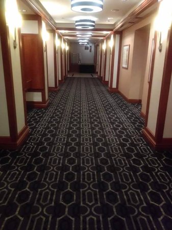 Livingston, Νιού Τζέρσεϊ: Long beautiful hallway on the 3rd floor