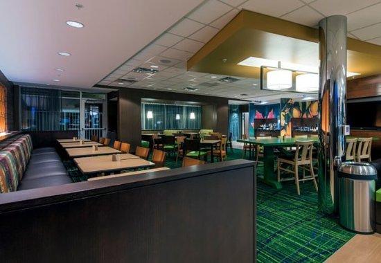Leavenworth, Κάνσας: Breakfast Dining Area
