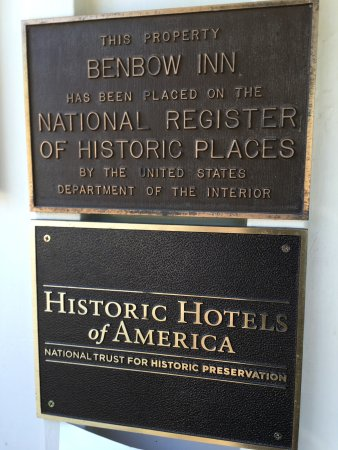 Benbow Historic Inn: A return to classical country elegance.