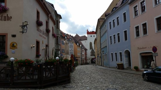 Alte Gerberei: Street in central Bautzen