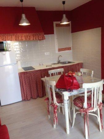 Vimbodi, إسبانيا: cocina americana y comedor