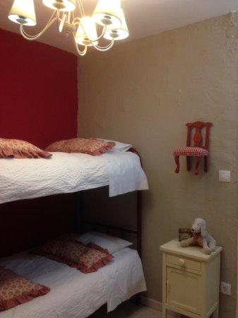 Vimbodí, España: Había una habitación con literas para los niños