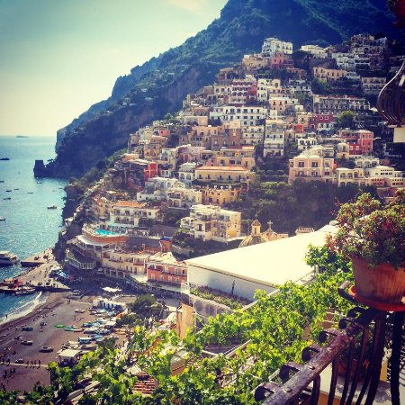 Hotel - Albergo California Positano: our view from our room