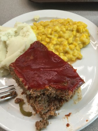 Crossett, AR: Best meatloaf.