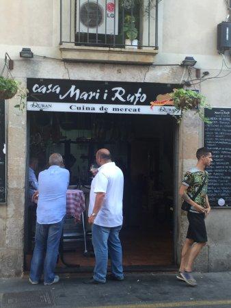 Casa Mari y Rufo : Los mejores pescados/mariscos que he comido en mi vida. Tienes que ir con mentalidad de comer ex