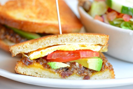 Lake Forest, IL: Grilled Cheese and Egg