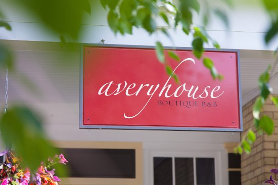 Avery House B&B: Front Entry