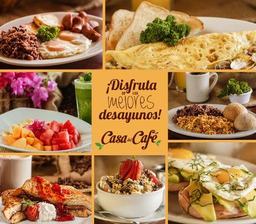 Desayunos fotograf a de casa del caf managua tripadvisor - Desayunos en casa ...