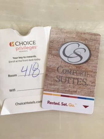 Comfort Suites Miami Airport North: I'm not the only one who got one of these that night!