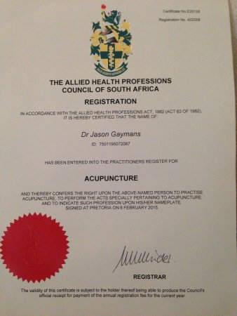 Dr Jay: the Cape Town Chiropractor and Acupuncturist