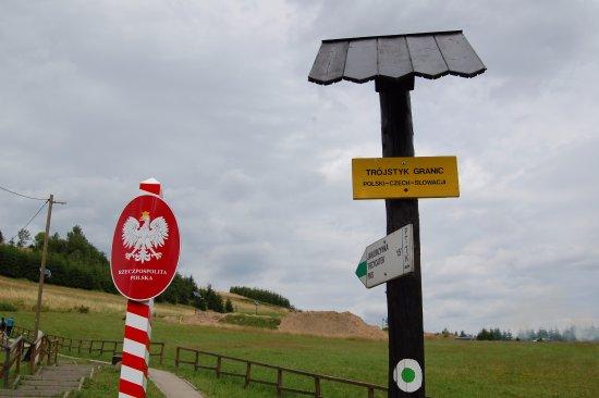 Silesia Province, Polen: Trójstyk granic