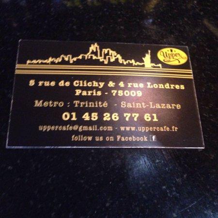 Upper Cafe Rue De Clichy