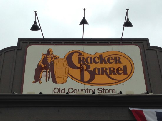 Coventry, RI: Cracker Barrel, Iconic Sign