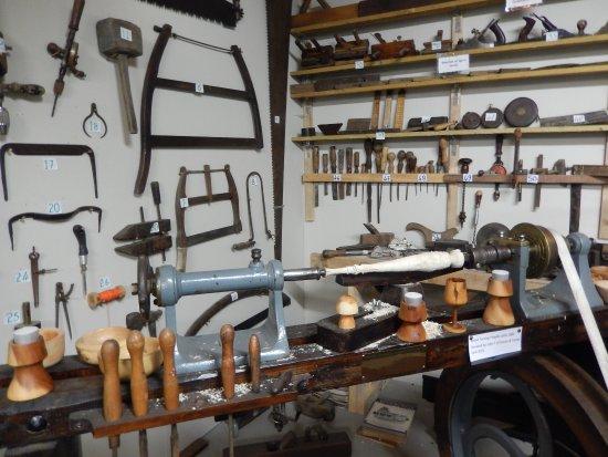 Bruff, Irlanda: Woodworking tools