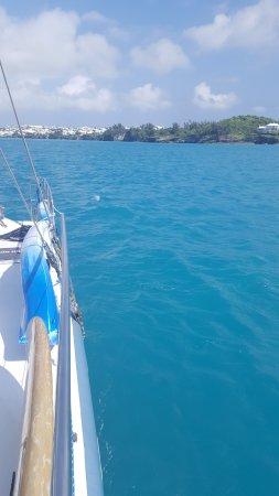 Гамильтон, Бермуды: On the way back to the dock.