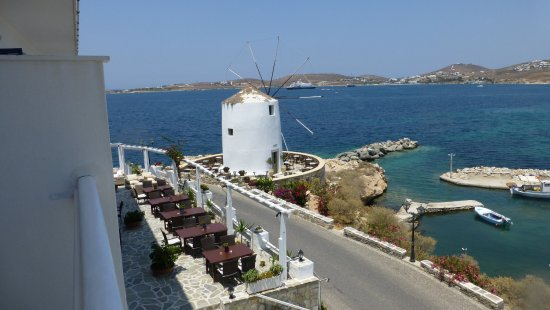 Pandrossos Hotel: View from our private balcony