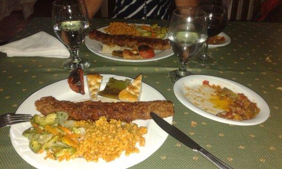 Le Bosphore: kebab adana