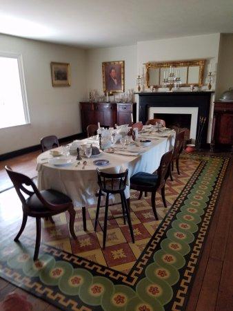 Appomattox, Wirginia: Dining room